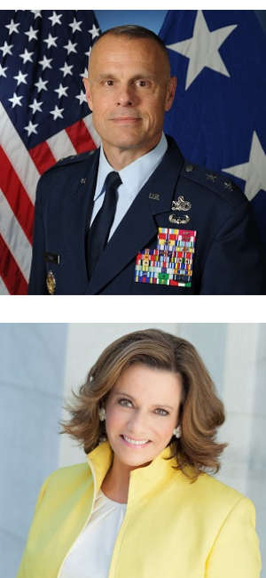 ASIS GSX Keynote Speakers - Air Force Major General Bradley D. Spacy and former Trump Administration Deputy National Security Advisor K.T. McFarland