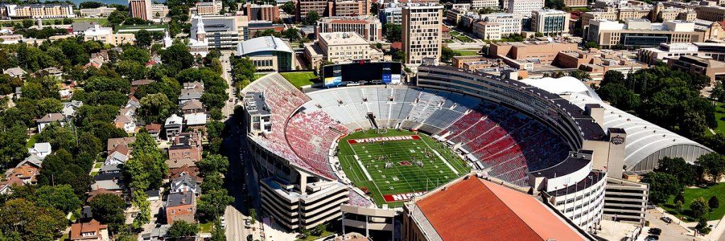 Drones and College Football Stadium Surveillance blog photo