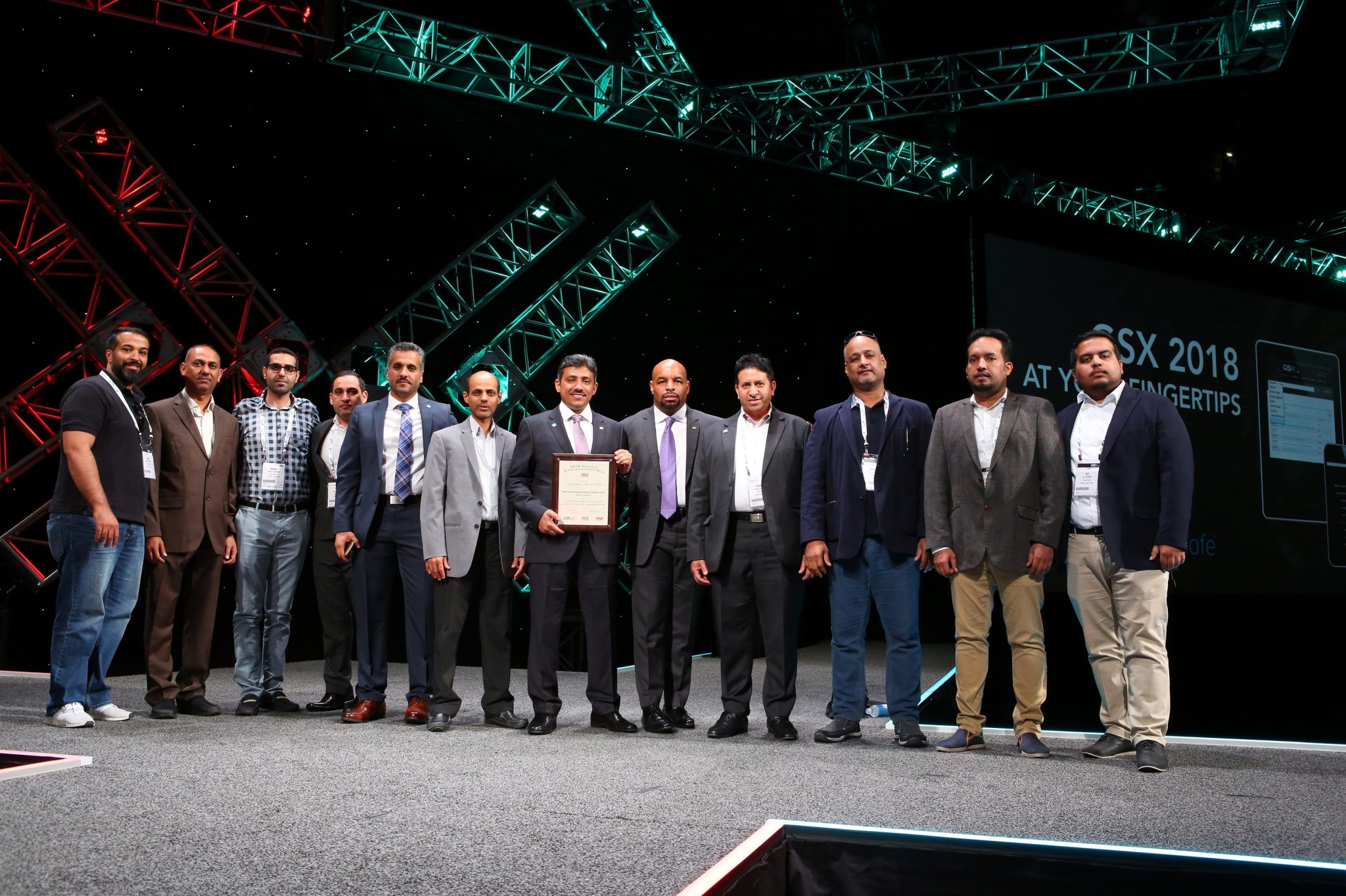 Saudi Aramco 2018 PCB Organizational Award of Merit Winner