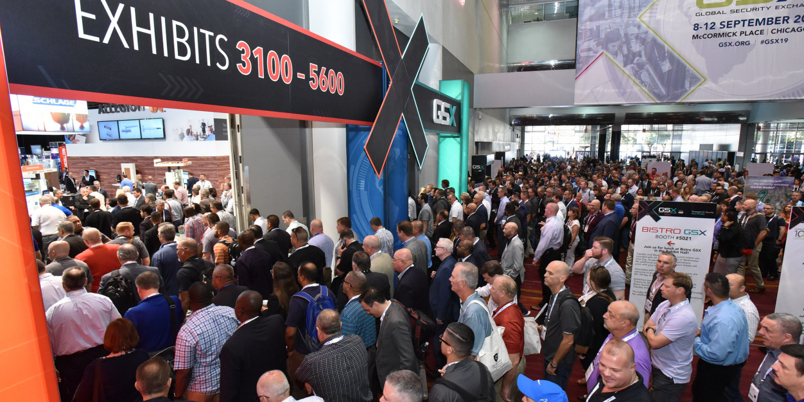 Packed Exhibit Hall