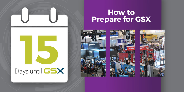 15 Days to Prepare for GSX blog photo