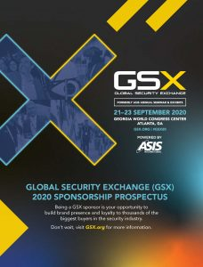 Global Security Exchange 2020 sponsorship brochure