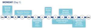 GSX 2020 Schedule highlights