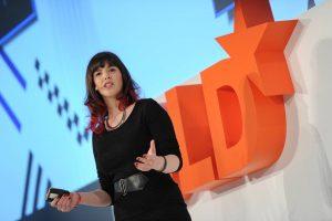 Keren Elazari speaking