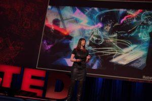 Keren Elazari, speaking at Tedtalk