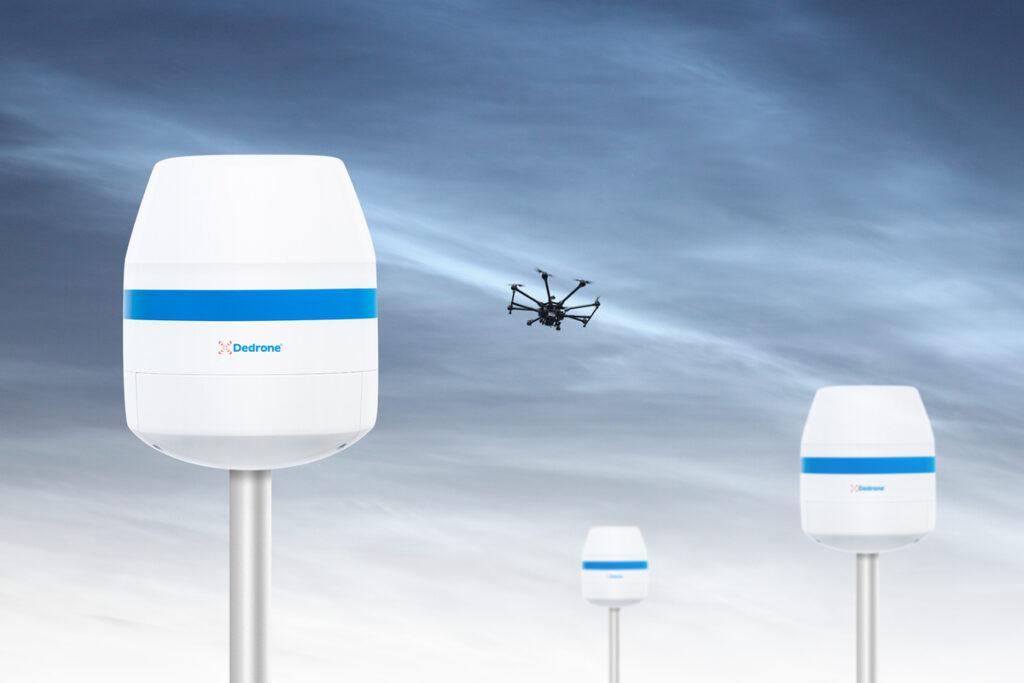 GSX+ Product Launch: Dedrone RF-360 Drone Detection Sensor blog photo
