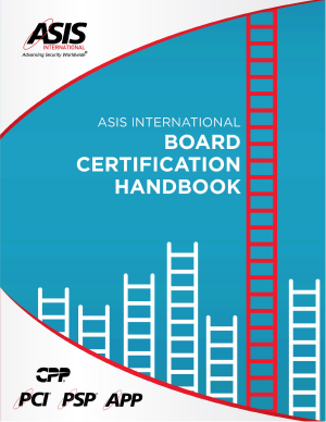 ASIS Certification Handbook