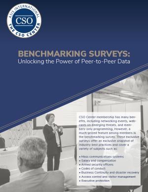 cso benchmarking brochure