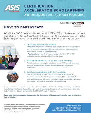 Certification Accelerator Flyer
