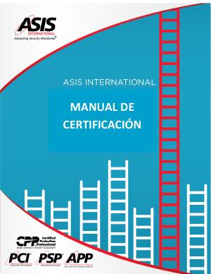 ASIS Manual de Certificación